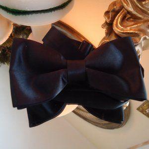 Marshall Stuart Accessories - Men's black bow tie by M/S silk